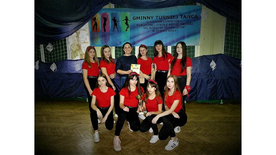 V Gminny Turniej Tańca o Puchar Dyrektora Szkoły