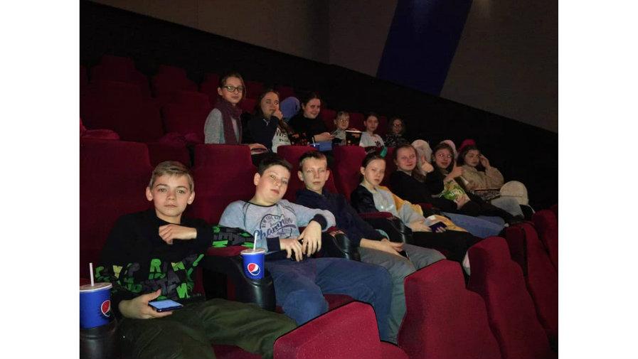 Wyjazd do kina na film - klasa VI